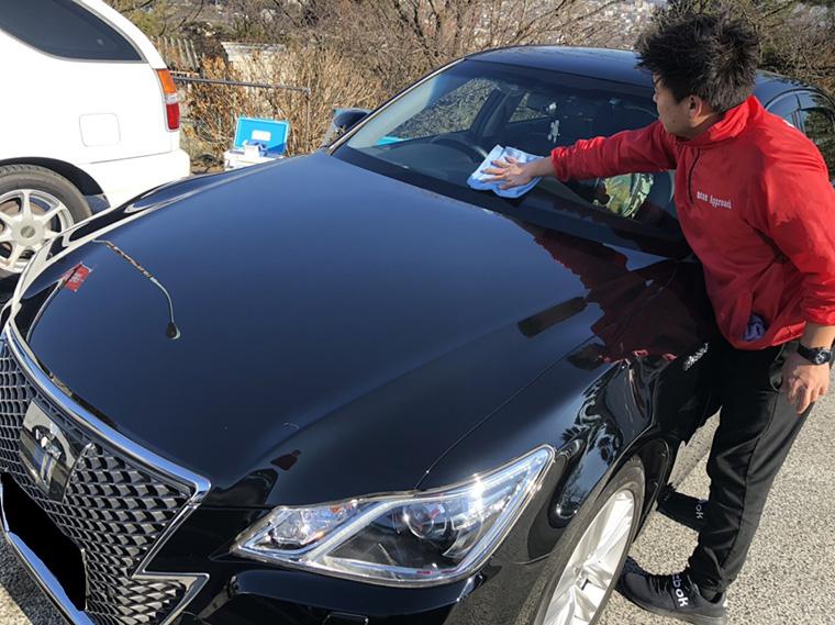 出張洗車の作業工程4